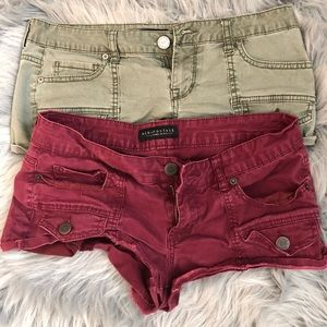 Cargo Booty Shorts (2pairs)